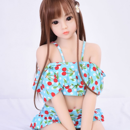 100cm AXB Cute Flat Breast Sex Doll Melantha
