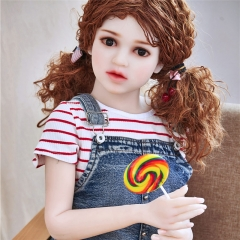 128cm IRONTech doll TPE doll Flat chest Sex Dolls Kiki